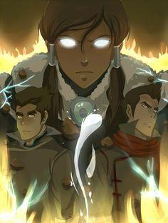 The Fire Ferrets: Team Avatar