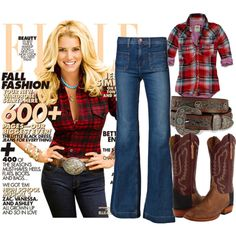 Jessica Simpson, created by playmate1960 on Polyvore.  HOW AMAZING DOES JESSICA SIMPSON LOOK?!