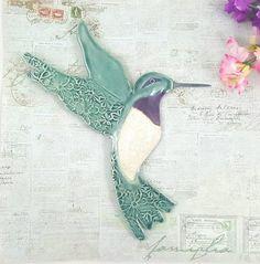 Clay Birds, Ceramic Birds, Bird Sculpture, Wall Sculptures, Ceramic Sculpture Figurative, Floral Texture, Etsy Crafts, Etsy Handmade, Handmade Gifts