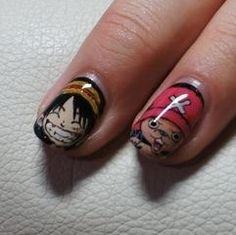 Onepeice Anime Nails
