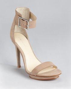 8fb47b67d92d7c Calvin Klein Sandals - Vivian Ankle Strap - ShopStyle