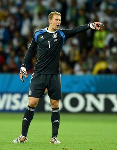 Manuel Neuer in Germany v Algeria