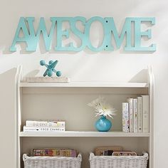 Wooden Words - Awesome in various colors.