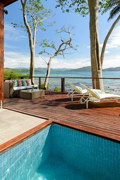 The Remote Resort, Fiji Islands - Fiji - All villas come with a private plunge pool and a spacious deck with daybeds.