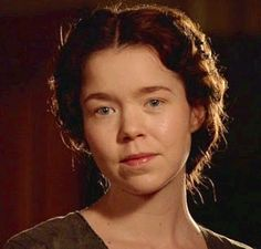 Esther Summerson - Bleak House.  Though I don't particularly relate to the BBC interpretation of the character, I certainly relate to the book character.  Her manner of thinking and speaking are very near my own, though I've been fortunate enough to not be born in the same circumstances.