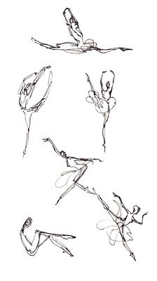 dance sketches