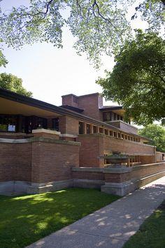 Frank Lloyd Wright - Robie House | Flickr - Photo Sharing!