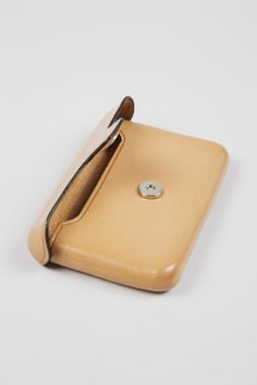 Leather Card Case by Christophe Lemaire