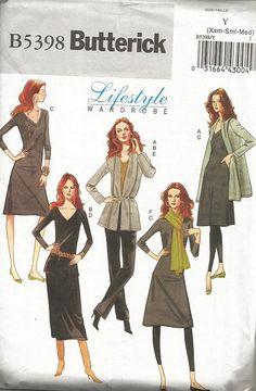 Butterick 5398 Lifestyle Wardrobe Pattern SZ by anniesshoppe