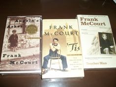 Frank McCourt- I got to meet him and talk to him. He had a bowl of strawberries in front of him and the kindest smile. Angela's Ashes, Books To Read, My Books, Laughing And Crying, Stay Happy, Twitter Quotes, Music Tv, Great Books, Book Worms