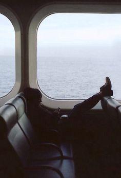 Sea travel.
