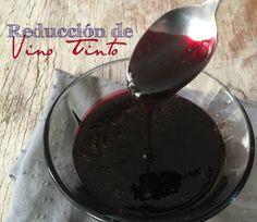 Cómo hacer reducción de vino tinto