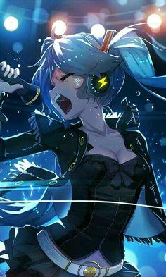 Anime Art Manga Hatsune Miku Ideas For 2019 Anime Girls, Kawaii Anime Girl, Manga Girl, Anime Art Girl, Image Manga, Estilo Anime, I Love Anime, Fan Anime, Animes Wallpapers
