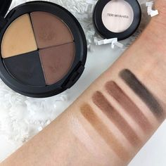 Thank you for these amazing swatches of the current #TeriMiyahiraBeauty box made specifically for brows but can also be used as eyeshadow and even face contour! My video/demo of all products will be going up soon. Have you tried using these shades in unique ways (eyeliner contour etc)?  Thanks to my girl @pretty_neutral for this photo!  If u missed the last box Waitlist registration for the next box (shipping end of this month) is now open! Click link in bio if u haven't tried our monthly…