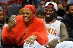 Watch Gucci Mane Proposes to Girlfriend Keyshia Ka'oir at an Atlanta Hawks Game #thatdope #sneakers #luxury #dope #fashion #trending