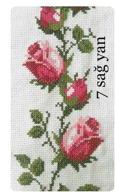 İsim: Görüntüleme: 1317 Büyüklük: KB (Kil… – broderie à la main Cross Stitch Heart, Cross Stitch Borders, Cross Stitch Flowers, Modern Cross Stitch, Cross Stitch Designs, Cross Stitching, Cross Stitch Embroidery, Hand Embroidery, Cross Stitch Patterns
