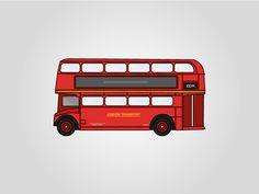Classic British Double Decker Bus