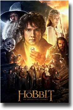 The Hobbit Poster - An Unexpected Journey Main Art