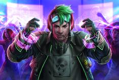 Create a cyberpunk character in Photoshop | Creative Bloq
