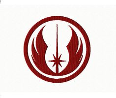 JEDI ORDER  Machine Embroidery Design in 2 sizes by TedandFriends, $2.00
