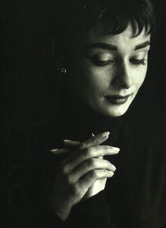 For my daughter, Claire.    Audrey Hepburn, c. 1954