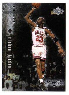 AMAZING 2413 GIN! Michael Jordan 1999 Upper Deck Black Diamond NBA Card Chicago Bulls FREE SHIPPING!