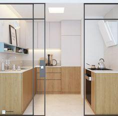 mieszkanie młodej prawniczki - zdjęcie od Anna Krzak architektura wnętrz - Kuchnia - Styl Skandynawski - Anna Krzak architektura wnętrz