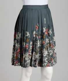 Take a look at this Shadow Rosana Skirt by Darling on #zulily today!