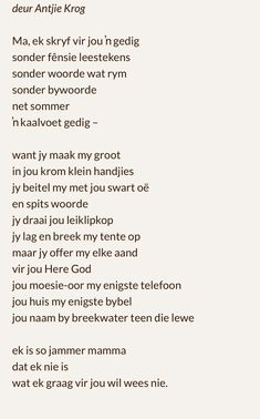 afrikaanse gedigte - Yahoo Search Results Image Search Results Witty Quotes, Sign Quotes, Faith Quotes, Inspirational Quotes, Hamilton Quotes, Afrikaanse Quotes, Parts Of Speech, Healing Quotes, Word Porn