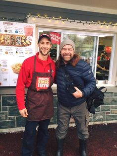 Remember when Alan Doyle from Great Big Sea stopped by? A Canadian classic indulging in a Canadian Classic :)