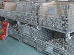 Manufacturer of Wire Mesh Container, Storage System & MHE Material Handling Equipment offered by Ispat Shilpi from Faridabad, Haryana, India Wire Mesh, City Photo, Transportation, Container, Storage, Pallet, Sign, Diesel, Industrial