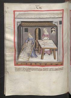 Cod. Ser. n. 2644, fol. 45v: Tacuinum sanitatis: Trij
