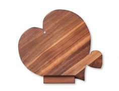 tagliere legno Cuore con cuoricino
