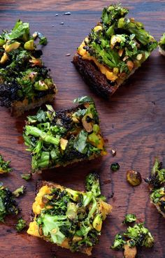 Spiced Sweet Potato and Roasted Broccoli Toasts - Healthy Broccoli Recipes That Will Watter Your Mouth