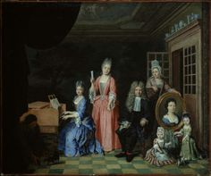 Nicolas van Haeften Portrait of a Family in an Interior about 1663-1715 Museum of Fine Arts, Boston