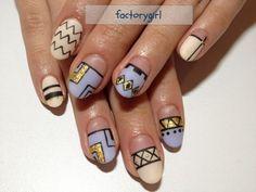 Omotesando nail salon * factorygirl * | ◇ image geometry mat