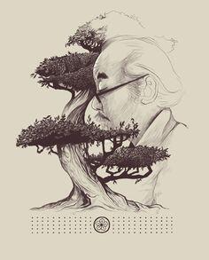 Miyagi by Dave Mottram, via Behance