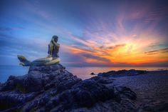 Mermaid, Samila Beach, Songkhla #Thailand #Photography