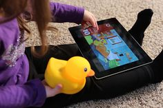Looking for a grown up Rubber Duckie? Check out interactive model Edwin the Duck.