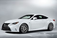 Lexus RC 350 F Sport ready to take on Europe's coupes. http://aol.it/1hweU9u