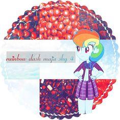 """Heres your icon hope you like it @rainbow_dash_maja.shy.4"""
