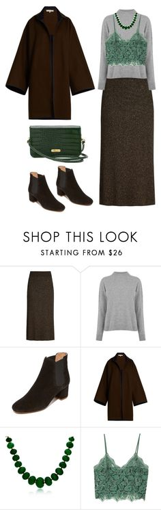 """Wet Season"" by curiocherry ❤ liked on Polyvore featuring A.L.C., Warehouse, Madewell, Mafalda von Hessen, Bling Jewelry, MANGO, Buxton, comfort, oversized and coat"