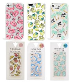 """""""Favourite phone cases! Mostly skinny dip London!"""" by ella1966666 on Polyvore featuring interior, interiors, interior design, home, home decor, interior decorating and Skinnydip"""