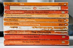 My John Wyndham Penguin collection