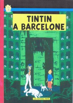 Couverture de Tintin - Pastiches, parodies & pirates - Tintin à Barcelone