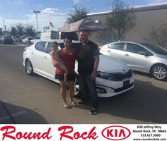 https://flic.kr/p/NfC4UF | Happy Anniversary to Brittany on your #Kia #Optima from Jorge Benavides at Round Rock Kia! | deliverymaxx.com/DealerReviews.aspx?DealerCode=K449