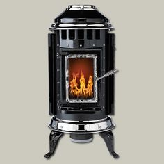 Pellet-Stove Styles: Thelin Gnome | All About Pellet Stoves | Photos | Heating | Plumbing, HVAC  Electrical | This Old House