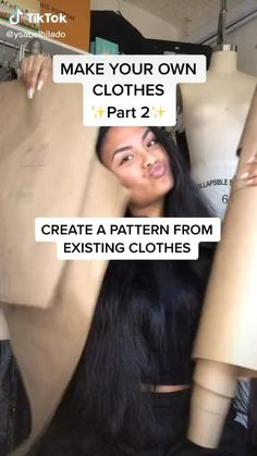 Diy Kleidung Upcycling, Diy Fashion Hacks, Make Your Own Clothes, How To Sow Clothes, Blog Couture, Diy Tank, Diy Clothes Videos, Clothing Hacks, Fashion Sewing