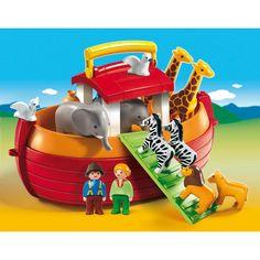 6765-Arche De Noé Transportable Playmobil : King Jouet, Playmobil Playmobil - Jeux d'imitation & Mondes imaginaires