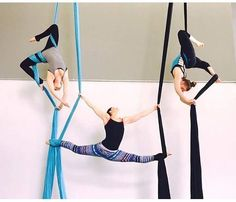 Goal to learn how to do high flying acrobatics Aerial Acrobatics, Aerial Dance, Aerial Silks, Aerial Hammock, Aerial Hoop, Aerial Arts, Pole Dance, Cheer Dance, Silk Dancing